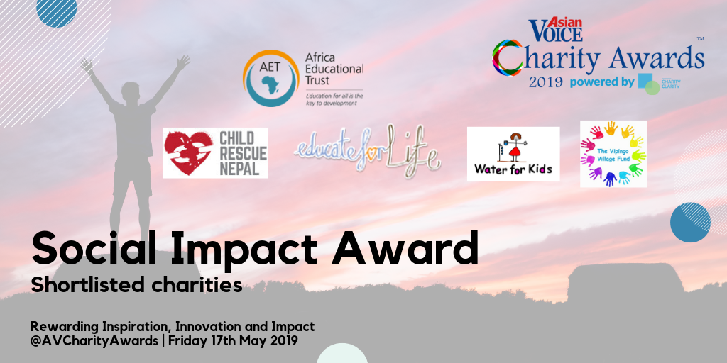 Africa Educational Trust receives nomination for Social Impact Award